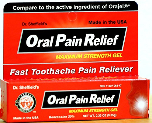 Dr. Sheffield's Oral Pain Relief for Toothache