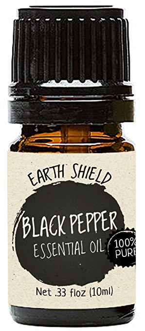 Earth Shield Black Pepper Essential Oil is 100% Pure and Therapeutic Grade