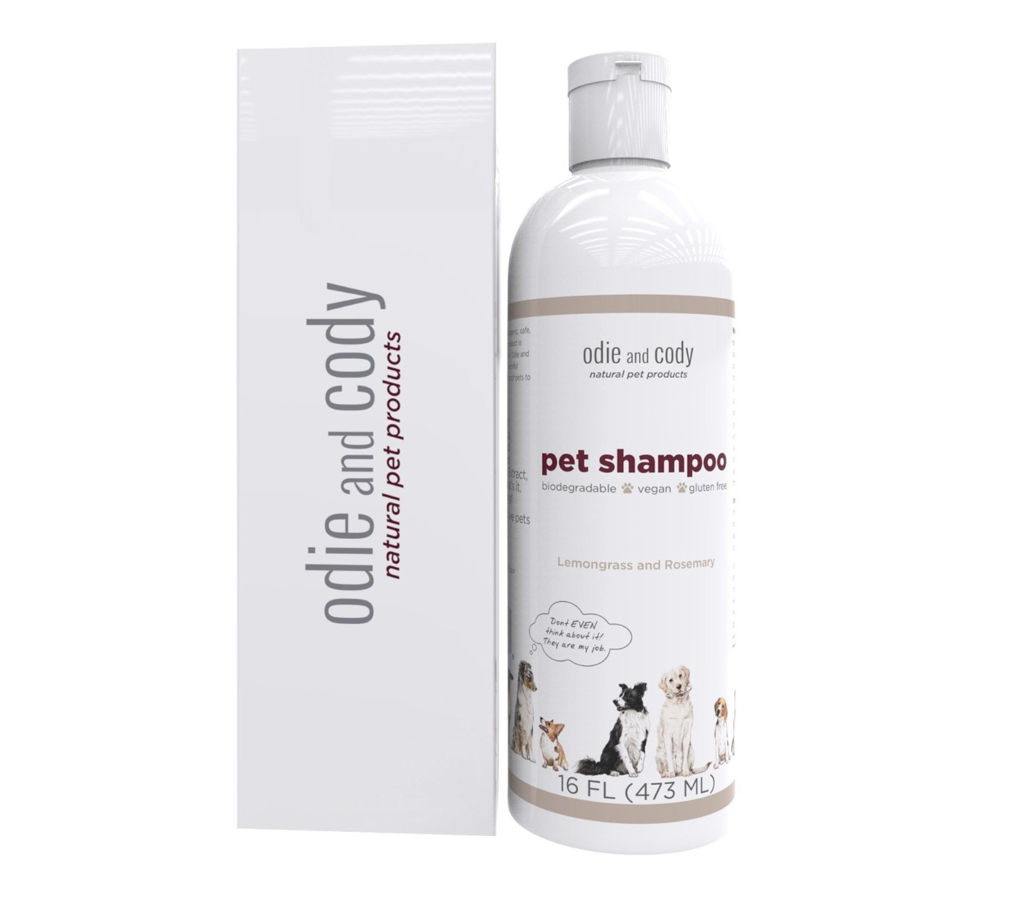 Try Treating Your Pets First Odie And Cody Natural Dog Shampoo,anic Pet  Shampoo For