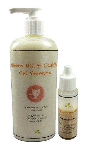 Pure Neem Oil Natural Flea Control Drop for Cats, Dogs, Humans