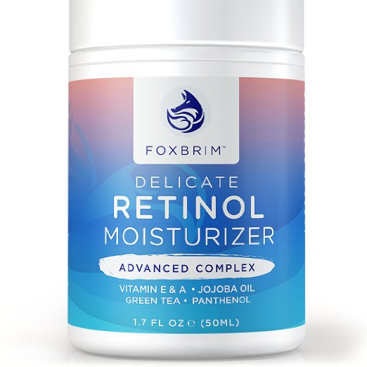 Retinol Cream with Advanced Complex revitalizes tired, worn skin.